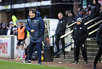 Ayr United v St Johnstone…..08.02.20   Somerset Park   Scottish Cup 5th Round<br />Tommy Wright shouts instructions<br />Picture by Graeme Hart.<br />Copyright Perthshire Picture Agency<br />Tel: 01738 623350  Mobile: 07990 594431