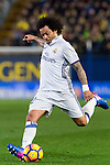 Marcelo Vieira Da Silva of Real Madrid in action during their La Liga match between Villarreal CF and Real Madrid at the Estadio de la Cerámica on 26 February 2017 in Villarreal, Spain. Photo by Maria Jose Segovia Carmona / Power Sport Images