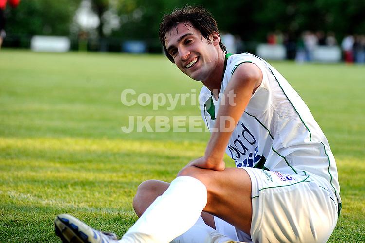 voetbal vv eenrum - fc groningen vriendschappelijk seizoen 2007-2008 15-05-2008 goran lovre..fotograaf Jan Kanning