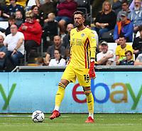 25th September 2021; Swansea.com Stadium, Swansea, Wales; EFL Championship football, Swansea versus Huddersfield; Ben Hamer of Swansea City