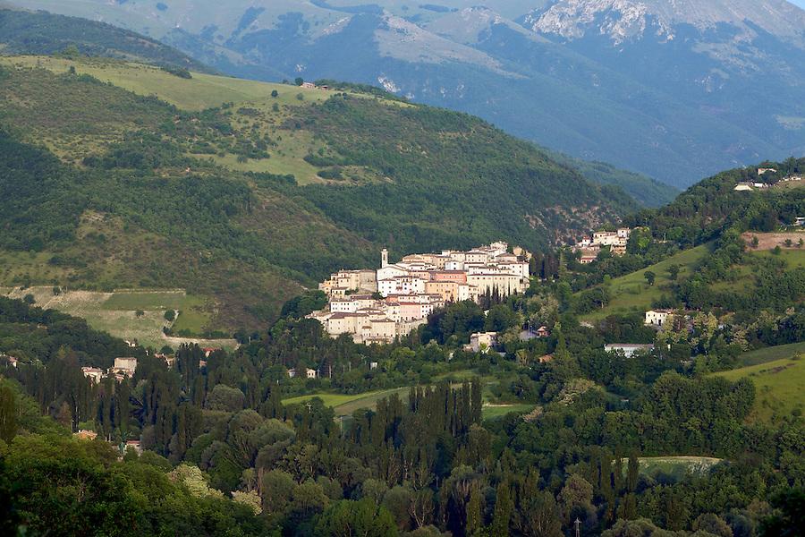 Preci Village, Umbria, Italy.