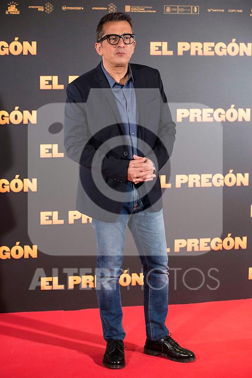 """Andreu Buenafuente during the presentation of the film """"El Pregón"""" in Madrid, March 15, 2016<br /> (ALTERPHOTOS/BorjaB.Hojas)"""