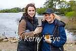 Enjoying a stroll at Ross Castle on Sunday, l to r: Elaine Reilly and Rebecca Maunsell.