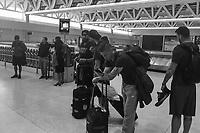 USMNT Travel in B & W, March 26, 2017