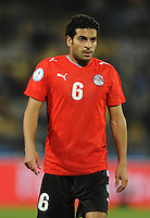 Hani Said of Egypt. USA defeated Egypt 3-0 during the FIFA Confederations Cup at Royal Bafokeng Stadium in Rustenberg, South Africa on June 21, 2009.