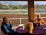 October 27, 2014: Scenes from Santa Anita Race Course in Arcadia, California on October 27, 2014. Scott Serio/ESW/CSM