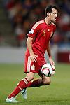 Spain's Sergio Busquets during 15th UEFA European Championship Qualifying Round match. November 15,2014.(ALTERPHOTOS/Acero)