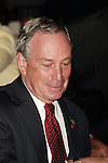 Mayor Michael Bloomberg.Attending The Abyssinian Development Corporation's.(ADC) Tenth Annual Renaissance Day of Commitment Leadership Breakfast at City College in Harlem, .New York City..June 15, 2004.© Walter McBride /