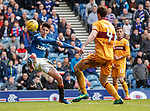 Emerson Hyndman with an effort on goal in the last minute