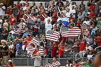 Fans during the match between USMNT and Hoiunduras on July 24, 2013 at Dallas Cowboys Stadium in Arlington, TX. USMNT won 3-1.