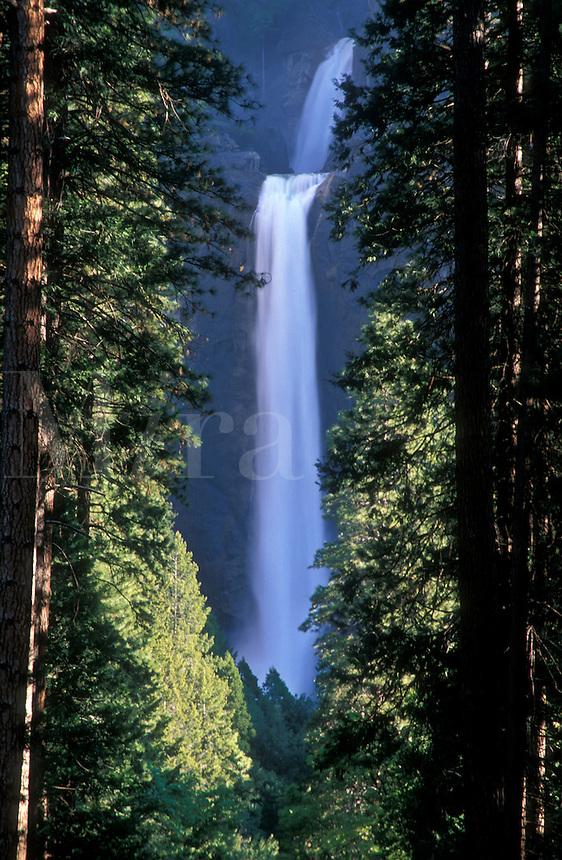 USA, California, Yosemite National Park, Lower Yosemite Falls