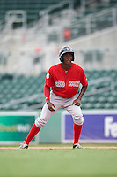 Boston Red Sox Chad Hardy (35) during an Instructional League game against the Minnesota Twins on September 23, 2016 at JetBlue Park at Fenway South in Fort Myers, Florida.  (Mike Janes/Four Seam Images)