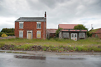 Disused farm shop at Haxey, Lincolnshire.