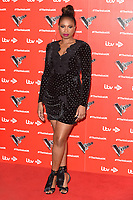 """Jennifer Hudson<br /> at the launch photocall for the 2019 series of """"The Voice"""" London<br /> <br /> ©Ash Knotek  D3468  03/01/2019"""