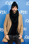"""David Otero attends to the premiere of the film """"¡Canta!"""" at Cines Capitol in Madrid, Spain. December 18, 2016. (ALTERPHOTOS/BorjaB.Hojas)"""