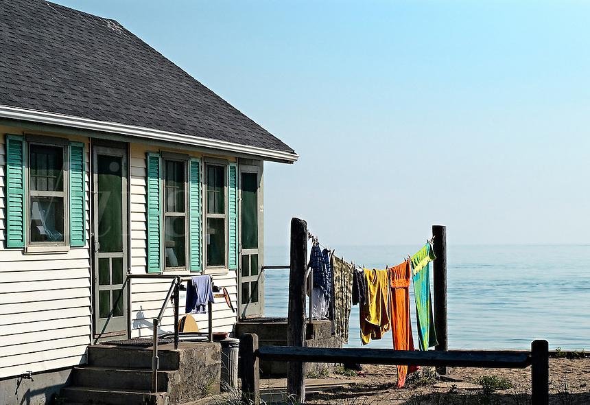 Quaint beach cottage, Truro, Cape Cod, MA, USA