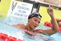 Ilaria Cusinato,<br /> 200m Individual Medley Women.<br /> Roma 01-07-2018 Stadio del Nuoto Foro Italico<br /> FIN 55 Trofeo Settecolli 2018 Internazionali d'Italia<br /> Photo Antonietta Baldassarre/Deepbluemedia/Insidefoto