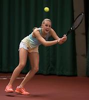 The Hague, The Netherlands, March 17, 2017,  De Rhijenhof, NOJK 14/18 years, Melissa Boyden (NED)<br /> Photo: Tennisimages/Henk Koster