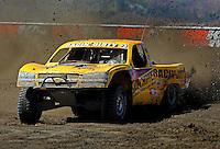 Jun. 26, 2009; Lake Elsinore, CA, USA; LOORRS unlimited 4 driver Jerry Daugherty races during qualifying. Mandatory Credit: Mark J. Rebilas-