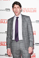 """Daniel Tuite<br /> arriving for the premiere of """"The Death of Stalin"""" at the Curzon Chelsea, London<br /> <br /> <br /> ©Ash Knotek  D3338  17/10/2017"""