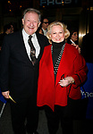 Harvey Evans & Barbara Cook arriving for the Opening Night performance of FROST NIXON at the Bernard B. Jacobs Theatre in New York City.<br />