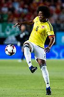 Carlos Sanchez of Colombia during the friendly match between Spain and Colombia at Nueva Condomina Stadium in Murcia, jun 07, 2017. Spain. (ALTERPHOTOS/Rodrigo Jimenez) (NortePhoto.com) (NortePhoto.com)