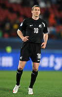 Chris Killen of New Zealand. Iraq and New Zealand tied 0-0 during the FIFA Confederations Cup at Ellis Park Stadium in Johannesburg, South Africa on June 20, 2009..