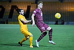 Livingston v St Johnstone…31.10.18…   Tony Macaroni Arena    SPFL<br />Liam Craig and Scott Pittman<br />Picture by Graeme Hart. <br />Copyright Perthshire Picture Agency<br />Tel: 01738 623350  Mobile: 07990 594431