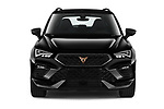 Car photography straight front view of a 2021 Cupra Ateca - 5 Door SUV Front View