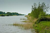 River Brue, Bason Bridge, East Huntspill, Somerset. Somerset levels.