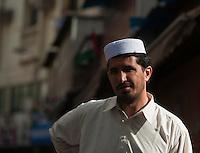 Afghan worker in Dubai.