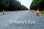 The on going road improvement works on the Dale road at Rathscannell in Abbeydorney