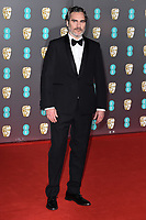 Joaquin Phoenix<br /> arriving for the BAFTA Film Awards 2020 at the Royal Albert Hall, London.<br /> <br /> ©Ash Knotek  D3554 02/02/2020