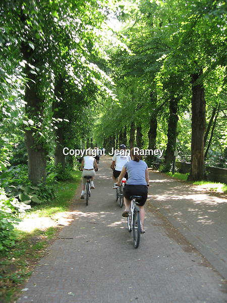 Biking in Brugge. Biking is one of the most popular past-times in Brugge.