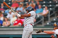 15 Aug 2007:  C.J. Henry of the Lakewood BlueClaws, Class A affiliate of the Philadelphia Phillies, in a game against the Greenville Drive at West End Field in Greenville, S.C. Photo by:  Tom Priddy/Four Seam Images