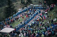 coming up the infamous Monte Zoncolan (1735m/11%/10km)<br /> <br /> stage 14 San Vito al Tagliamento – Monte Zoncolan (186 km)<br /> 101th Giro d'Italia 2018