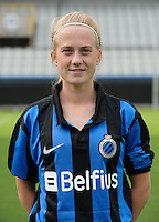 Club Brugge Vrouwen : Silke Demeyere<br /> foto David Catry / nikonpro.be