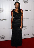 LOS ANGELES, CA, USA - NOVEMBER 08: Azie Tesfai arrives at the Unlikely Heroes' 3rd Annual Awards Dinner And Gala held at the Sofitel Hotel on November 8, 2014 in Los Angeles, California, United States. (Photo by Celebrity Monitor)