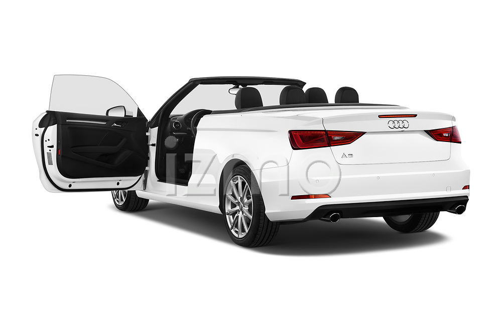 Car images close up view of 2015 Audi A3 2.0T quattro S tronic Premium 2 Door Convertible doors