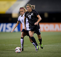 Hannah Wilkinson, Kristie Mewis. The USWNT tied New Zealand, 1-1, at an international friendly at Crew Stadium in Columbus, OH.