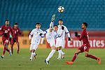 Qatar vs Uzbekistan during the AFC U23 Championship China 2018 Group A match at Changzhou Olympic Sports Center on 09 January 2018, in Changzhou, China. Photo by Marcio Rodrigo Machado / Power Sport Images