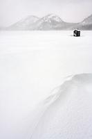 Ice Fishing Shack on Jordan Pond #A19