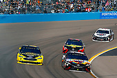 Monster Energy NASCAR Cup Series<br /> TicketGuardian 500<br /> ISM Raceway, Phoenix, AZ USA<br /> Sunday 11 March 2018<br /> Kyle Busch, Joe Gibbs Racing, Toyota Camry Skittles Sweet Heat and Brad Keselowski, Team Penske, Ford Fusion Alliance Truck Parts<br /> World Copyright: Russell LaBounty<br /> NKP / LAT Images