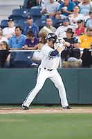 July 4, 2009: Everett AquaSox infielder Ben Billingsley at-bat during a Northwest League game against the Yakima Bears at Everett Memorial Stadium in Everett, Washington.
