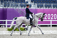 GBR-Oliver Townend rides Ballaghmor Class during the Eventing Dressage Team and Individual Day 1 - Session 1. Tokyo 2020 Olympic Games. Friday 30 July 2021. Copyright Photo: Libby Law Photography
