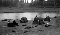 Camping trip to Sunset Lake with Hugh Charles' family, 1987.   &#xA;<br />