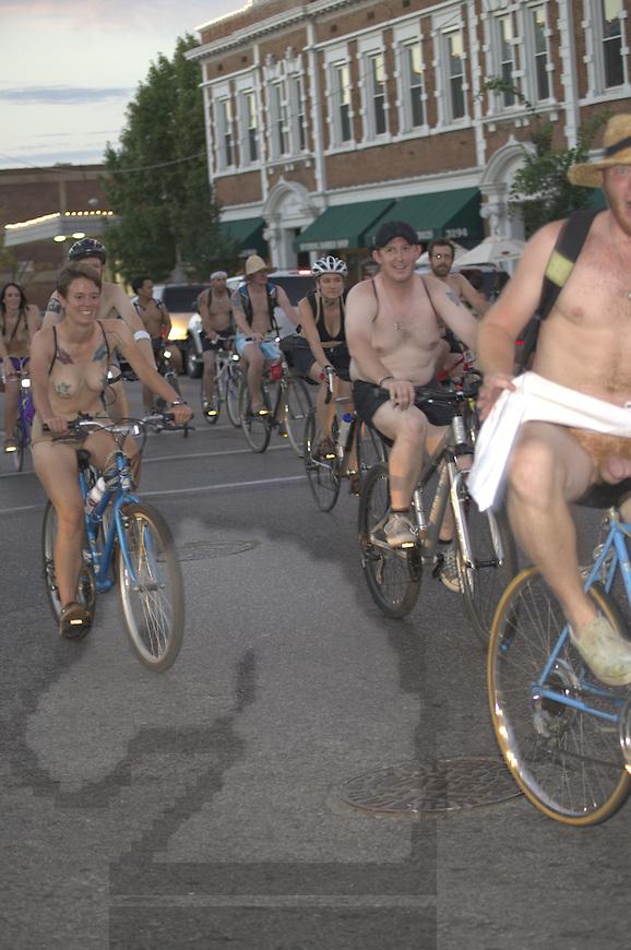 Workd Naked Bike Ride 2012