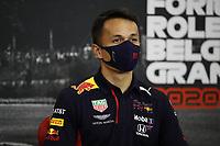 27th August 2020, Spa Francorhamps, Belgium, F1  Grand Prix of Belgium Motorsports: FIA Formula One World Championship 2020, Grand Prix of Belgium, 23 Alexander Albon THA, Aston Martin Red Bull Racing