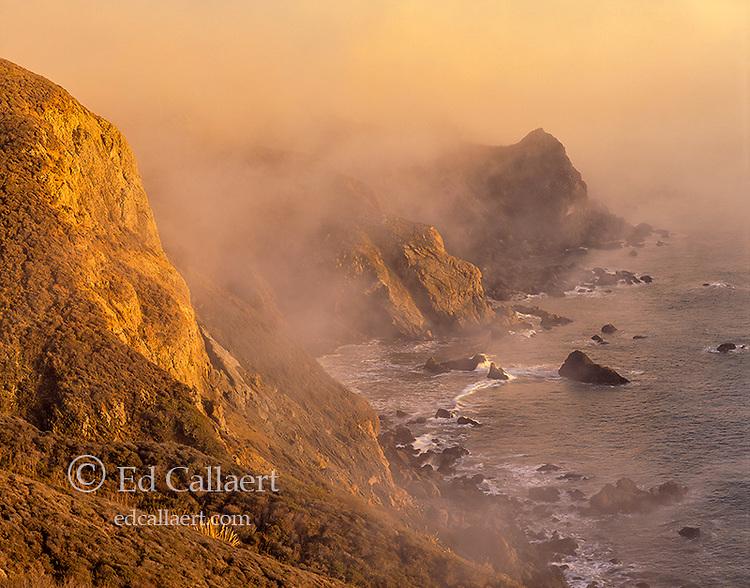 Coastal Fog, Pirates Cove, Golden Gate National Rereation Area, Marin County, California