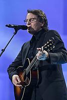 "Francis Cabrel performs at the ""Paris-Quebec"" show of the 44th Festival d'ete de Quebec on the Plains of Abraham in Quebec city Thursday July 7, 2011."